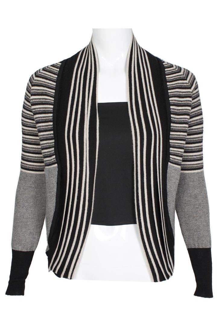 #pianurastudio #pianura #greenbird #marinamall #abudhabi #abudhabifashion #abudhabistyle #dubai #dubaifashion #dubaistyle #fashionista #womenswear #eveningwear #casualwear #fall2013 #winter2014 #cardigan #sweater #fallcoat #striped #blackandwhite #greyscale