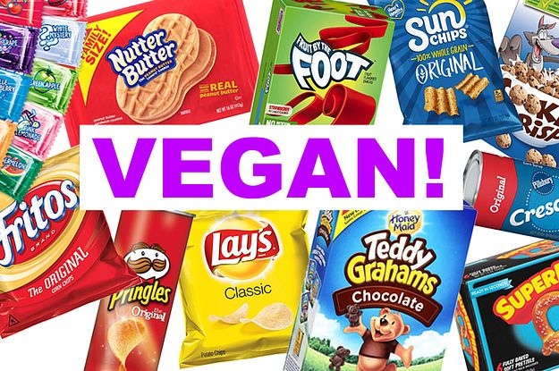 30 Junk Foods You Didn T Know Were Vegan Vegan Store Bought Snacks Vegan Junk Food Vegan Food List