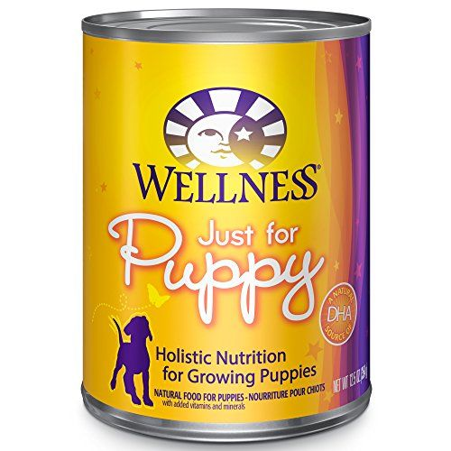 Wellness Complete Health Natural Wet Canned Puppy Food, Chicken & Salmon, 12.5-Ounce Can (Pack of 12) - Wellness Complete Health Natural Wet Canned Dog Food, Just for Puppy Recipe, is healthy, natural, protein-rich dog food for puppies made with carefully chosen, authentic ingredients for everyday health and provide an optimal balance of nutrient-rich whole foods to fulfill the unique health needs ...
