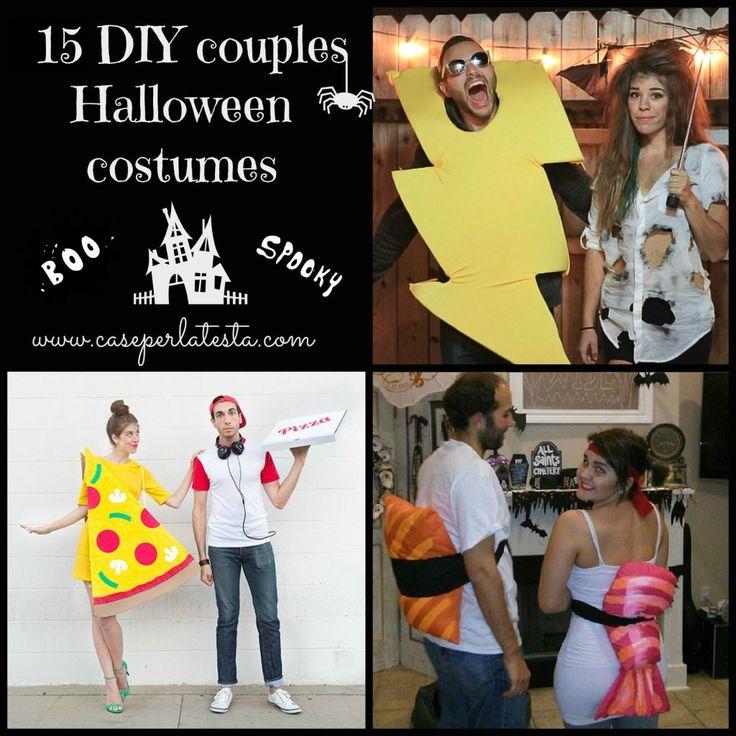15 costumi di Halloween fai da te per coppie * 15 DIY couples Halloween costumes