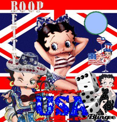 Betty Boop Pink Blingee | Betty Boop version angleterre et USA ! Pour moi , il est parfait ...