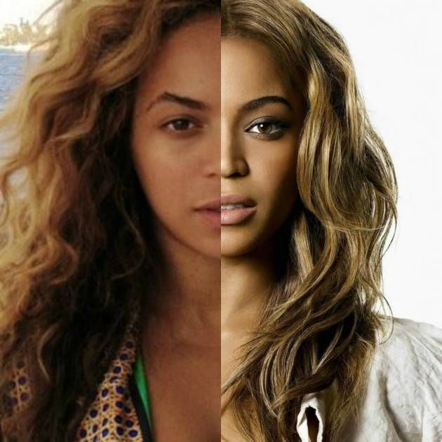 29 Celebrities With and Without Makeup   Health and Beauty ...