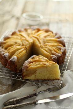 Torta di mele morbida e semplice | Formine e Mattarello