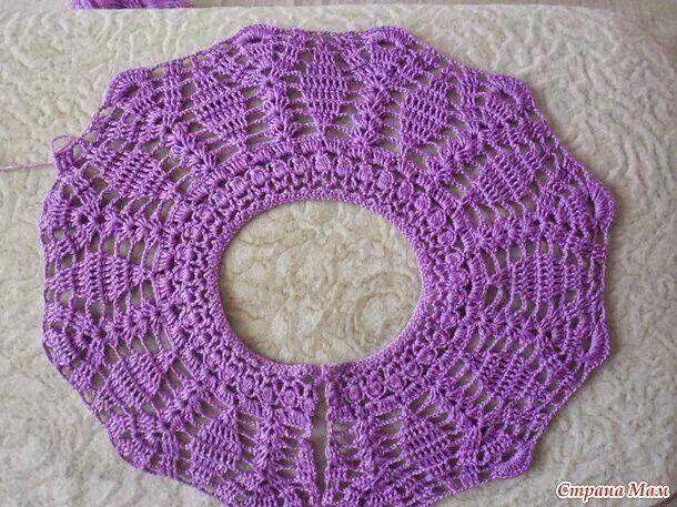 Mi baúl de Inspiraciones : Vestidos de niñas tejidos al crochet