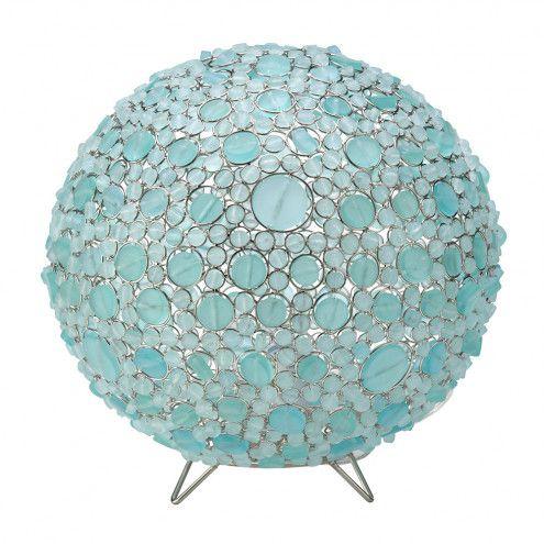 Batasha Recycled Glass Globe Lamps | VivaTerra