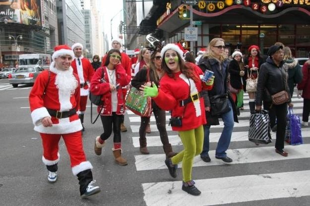 The Grinch | Community Post: 31 DIY Costume Ideas To Rock For SantaCon
