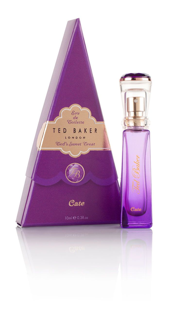 Ted Baker Perfume, with a Purple and very elegant packaging.