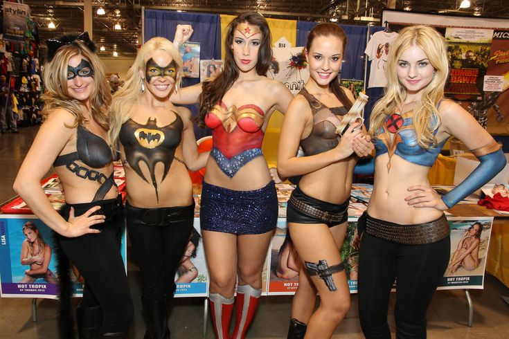 17 best images about body paint on pinterest wonder for Comic con body paint