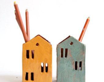 Giften voor leraren keramische potlood van Vsocks op Etsy