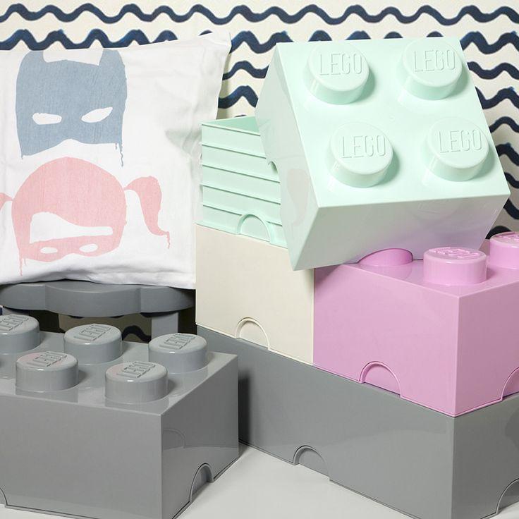 Storage Box . LEGO Brick 4 Stud - Various Colour Options