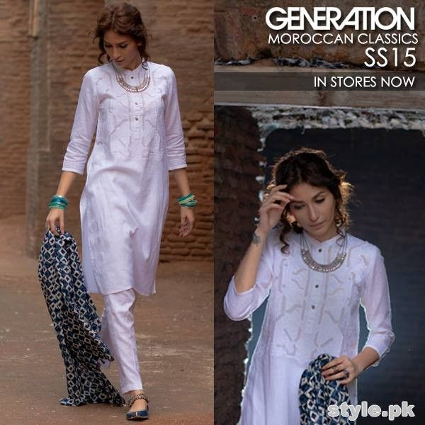 Generation Summer Dresses 2015 For Women #Generation #SummerDresses2015 #DressesForWomen #LadiesWear2015