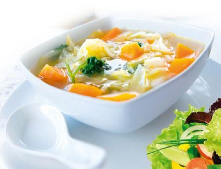 Супы для похудения. Рецепты супов для похудения с капустой, сельдереем, грибами и зеленью. Женский сайт www.InMoment.ru