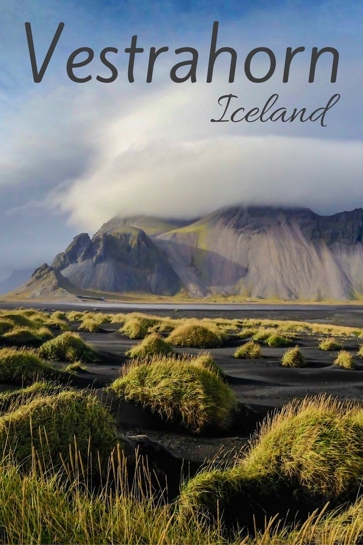 Vestrahorn - one of the most magical mountains in Iceland, photographed from the black sand dunes - photos and practical info: http://www.zigzagonearth.com/vestrahorn-iceland-stokksnes/