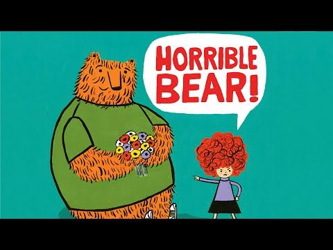 Watch. Connect. Read.: Book Trailer Premiere: Horrible Bear! by Ame Dyckman and Zachariah OHora