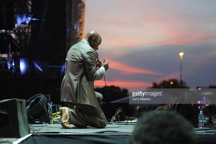 Jeffrey Osborne performs onstage at the 10th Annual Jazz in The Gardens: Celebrating 10 Years of Great Music at Sun Life Stadium on March 21, 2015 in Miami Gardens, Florida.