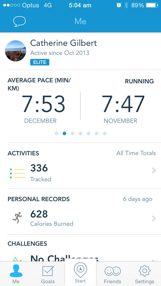 Average pace November and December 2014
