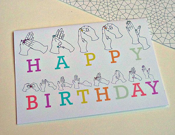 132 best images about BIRTHDAY CARDS – How to Sign a Birthday Card