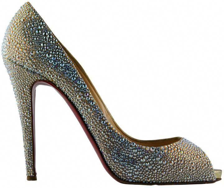 159026a357d2 Christian Louboutin Very Privé glitter heels  glittershoes