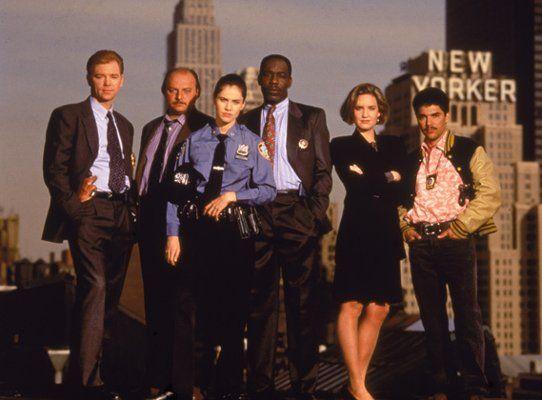 NYPD Blue, starring David Caruso, Dennis Franz and Nicholas Turturro, 1993-2005
