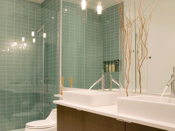 Adding a Basement Shower >> http://www.hgtvremodels.com/interiors/adding-a-basement-shower/index.html?soc=pinterest#
