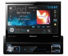 "Pioneer AVH-X7500BT Autoradio / Bilradio til billig pris hos CARSound Bilstereo - Bedre lyd i bilen... (Multimedieafspiller med 7"" motoriseret touchskærm)"