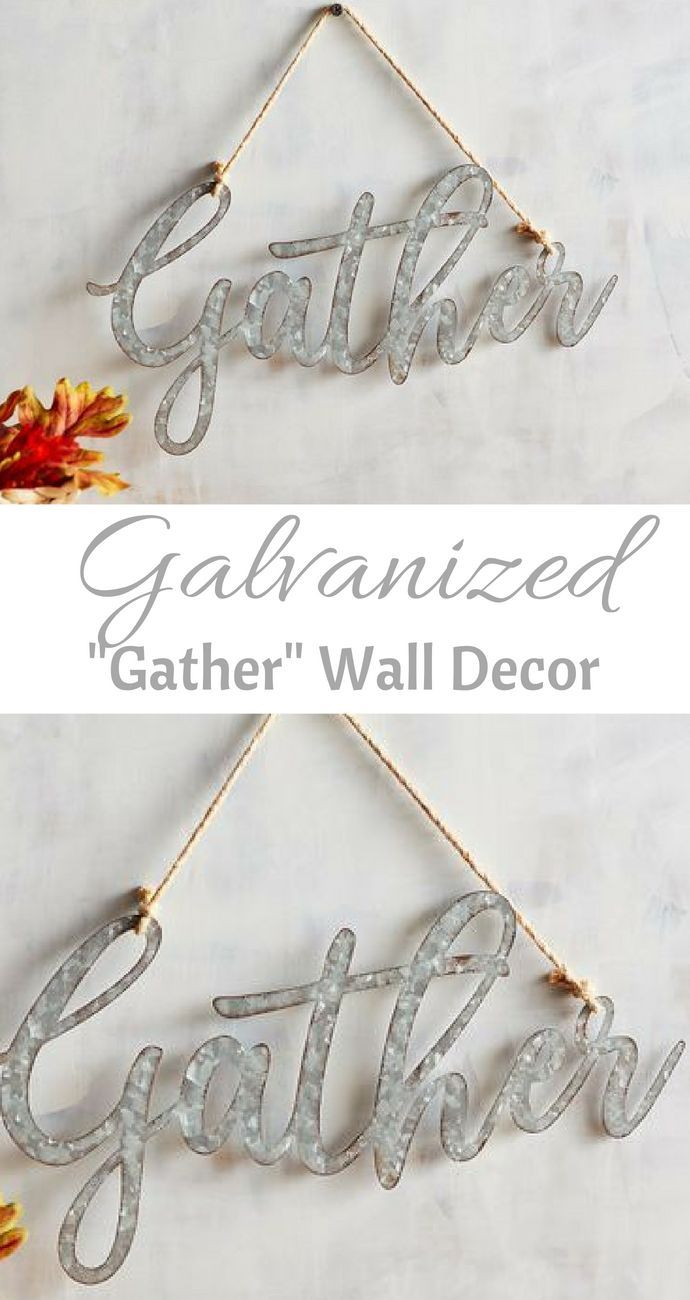 I Love This Galvanized Gather Wall Decor Homedecor Walldecor Falldecor Affiliate Nature Canvas Painting Inspirational Wall Decor Unique Wall Art