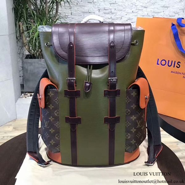 e043c0f5 Louis Vuitton M53425 Christopher PM Backpack Epi Leather | Purse ...