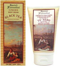 Black Tea with Black Tea Extract by Speziali Fiorentini 8.4 oz Bath & Shower Gel by Speziali Fiorentini. $20.00. Buy Speziali Fiorentini Bath & Shower Gels - Black Tea with Black Tea Extract by Speziali Fiorentini 8.4 oz Bath & Shower Gel. How-to-Use: Apply body wash to hands, loofah or wash cloth and lather. Cleanse body from the shoulders down and rinse.