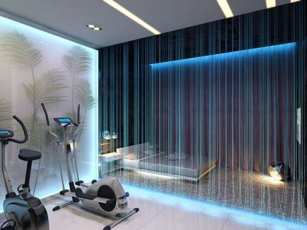 Fiber Optic Room Dividers - Tanya Minina's Moscow Apartment Design Looks Like Sea Anemones (GALLERY)