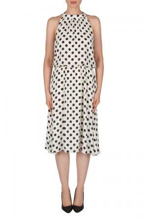 02036b8e1649 Joseph Ribkoff Vanilla Black Dress Style 182770