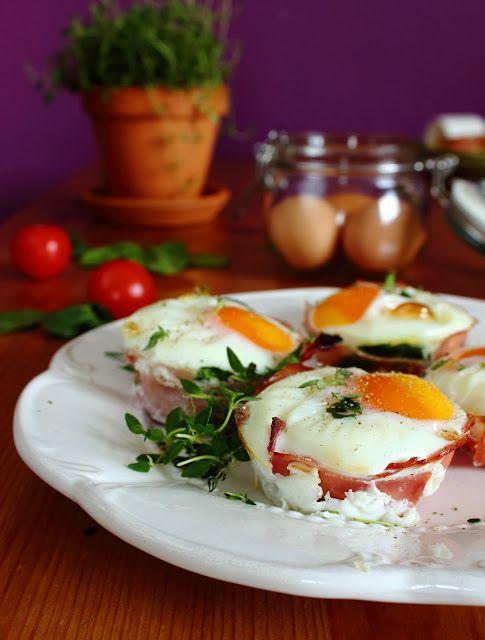 Zapiekane jaja