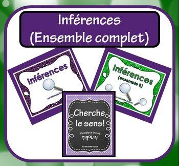 INFÉRENCES (Ensemble complet: 3 produits combinés)
