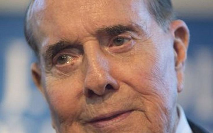 """Former Kansas Sen. Bob Dole said the current leading presidential candidates for 2016 are """"over the top"""" and """"extreme"""" and he might """"oversleep"""" if Texas Sen. Ted Cruz became the party's nominee."""