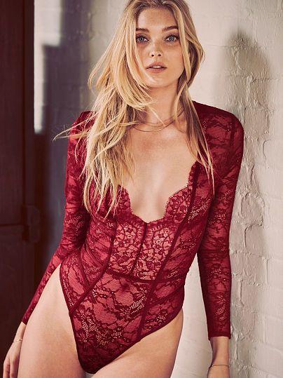 Very Sexy Lace Bodysuit, Victoria's Secret Dessous & Underwear, Unterwäsche, Nachtwäsche, Bra, body... Very Sexy Victorias Secret