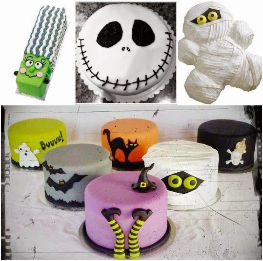 bolos para o Halloween / Dia das Bruxas  tellastella / Tella S Tella