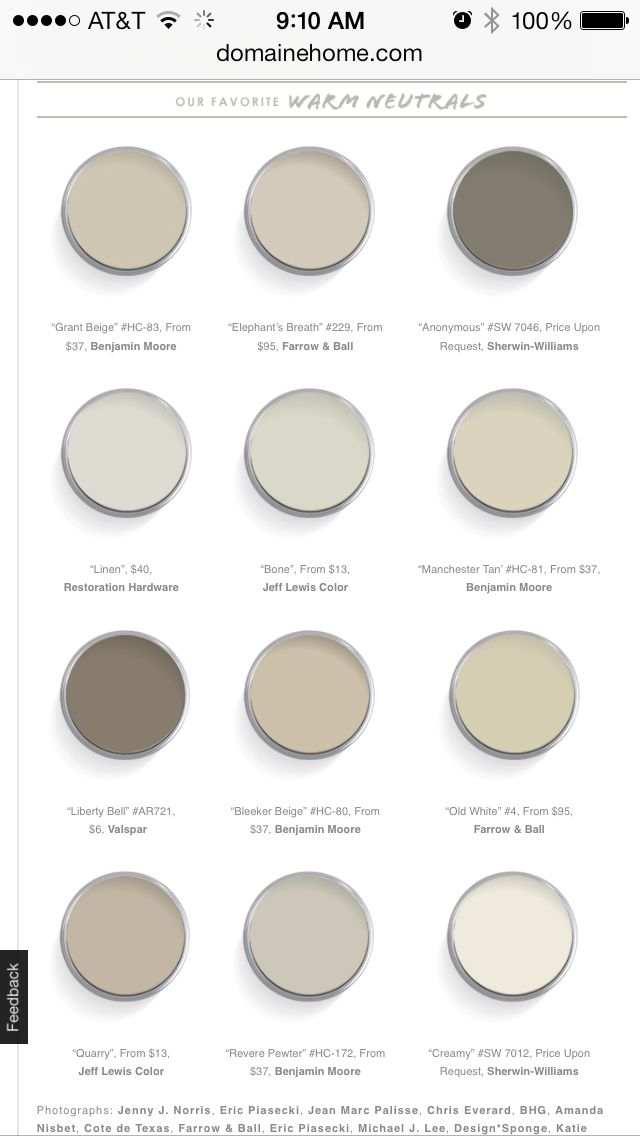 Domaine Home 12 Best Warm Neutral Paint Colors   greige102 best Wall colors images on Pinterest   Home  Wall colors and Live. Great Neutral Paint Colors Benjamin Moore. Home Design Ideas
