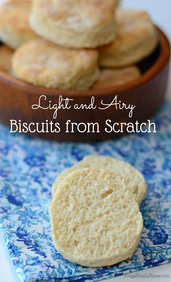 I used to buy those canned biscuits all the time until I started making them from scratch at home. This recipe for homemade biscuits is really delicious. This biscuit recipe is so easy to make and they turn out much better than the pop can biscuits. They only take a few minutes to make and cost less than the pop can biscuits too.