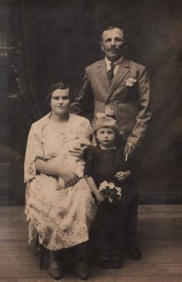 Jadwiga Rejmont z ojcem Wojciechem
