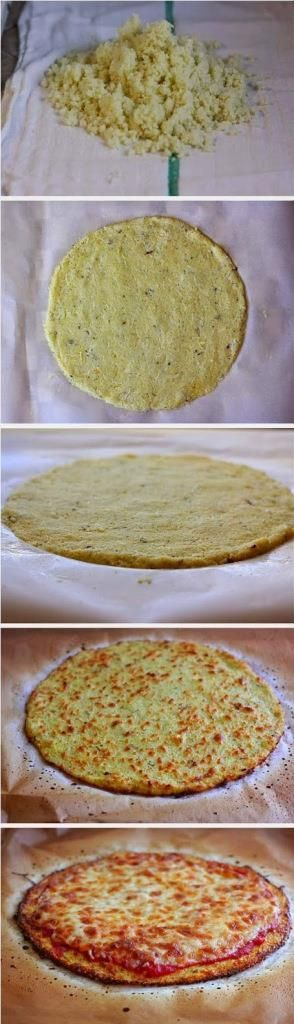 The BEST Cauliflower Crust Pizza!    The BEST Cauliflower Crust Pizza! Ingredients 1 small to medium sized head of cauliflower – should yield 2 to 3 cups once processed 1/4 teaspoon kosher salt 1/2 teaspoon dried basil (crush it even more between your fingers) 1/2 teaspoon dried oregano (crust it even more between you fingers) 1/2 teaspoon garlic powder optional a […]  Continue reading...    The post  The BEST Cauliflower Crust Pizza!  appeared first on  All The Food That's Fit To Eat .