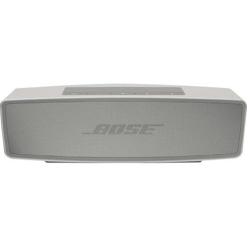 Bose® - SoundLink® Mini Bluetooth Speaker II - Pearl - Front Zoom