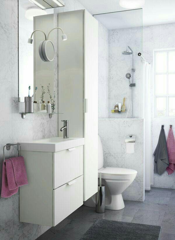 Die besten 17 Bilder zu Bathroom auf Pinterest Toiletten - badezimmer kleine räume