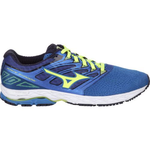 Mizuno Men's Wave Shadow Running Shoes (Blue/Yellow, Size 11.5) - Men's Running Shoes at Academy Sports
