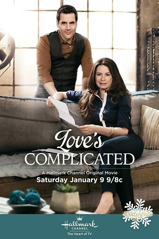 Love's Complicated is a 2016 Hallmark Channel Original Movie starring Holly Marie Combs, Ben Bass, Randal Edwards, Catherine Disher, Corbin Bernsen and Amanda Brugel. Plot: A woman avoids conflict in her life and her happiness suffers as a result, so her boyfriend enrolls her in a conflict-resolution class, where she learns about finding inner strength and true love. Genre: Comedy, Romance, Drama.