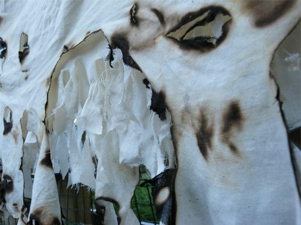 burnt fabrics