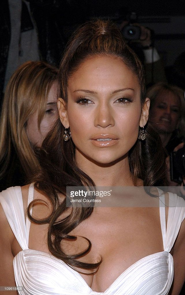 Jennifer Lopez during Versace Celebrates the Re-Opening of the Fifth Ave. Boutique at Versace Boutique in New York City, New York, United States.
