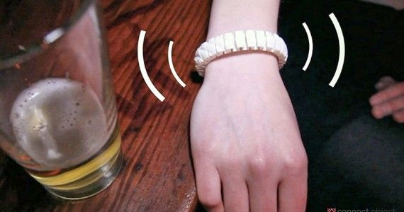 Connect Object - Vive, le bracelet Alcootest