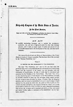 The Volstead Act  Record Group11  General Records of the United States Government  National Archives and Records Administration  ARC Identifier: 299827