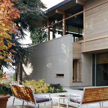 Modern House Exterior Siding On Pinterest Steel Siding Mid Century