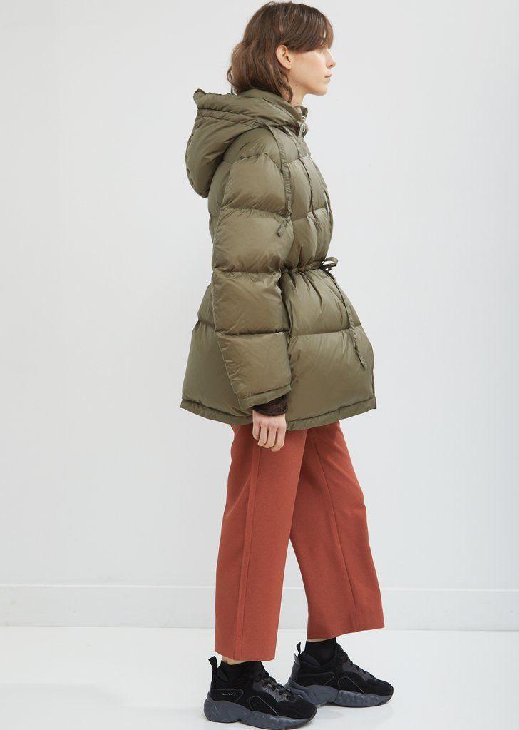 Short Hooded Puffer Jacket By Acne Studios La Garconne Roupas The Hood