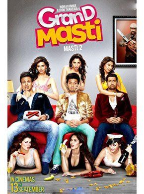 Grand Masti Hindi Movie Online - Ritesh Deshmukh, Vivek Oberoi, Aftab Shivdasani, Manjari Fadnis and Sonalee Kulkarni. Directed by Indra Kumar. Music by Anand Raj Anand. 2013 ENGLISH SUBTITLE Masti 2 Hindi Movie Online Grand Masti Hindi Movie Online